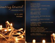 Vianočný koncert v Biskupskom hostinci 12.12.2018