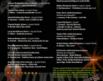 Absolventský koncert 2017